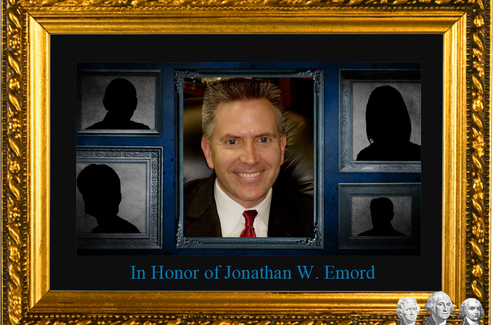 in honor of Jonathan W. Emord